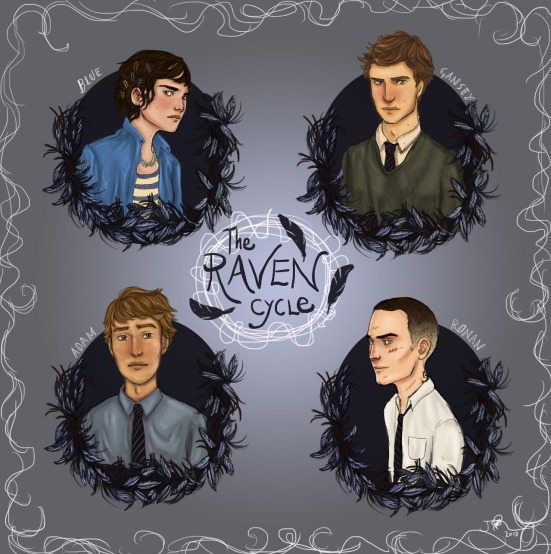 The raven boys fan art