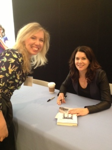 Random House Open House. Me and Lauren Graham.