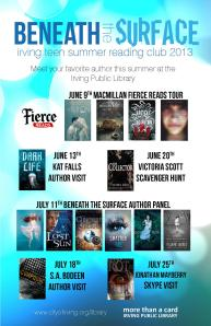 Irving Summer Reading panels — Go see Nova! July 10 and 11