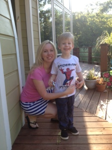 Sam's first day of preschool!