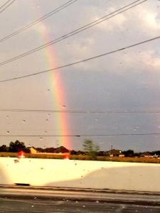 Rainbow, pretty.