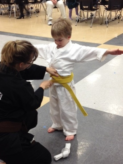 Official Yellow Belt!