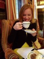 tea-laughing