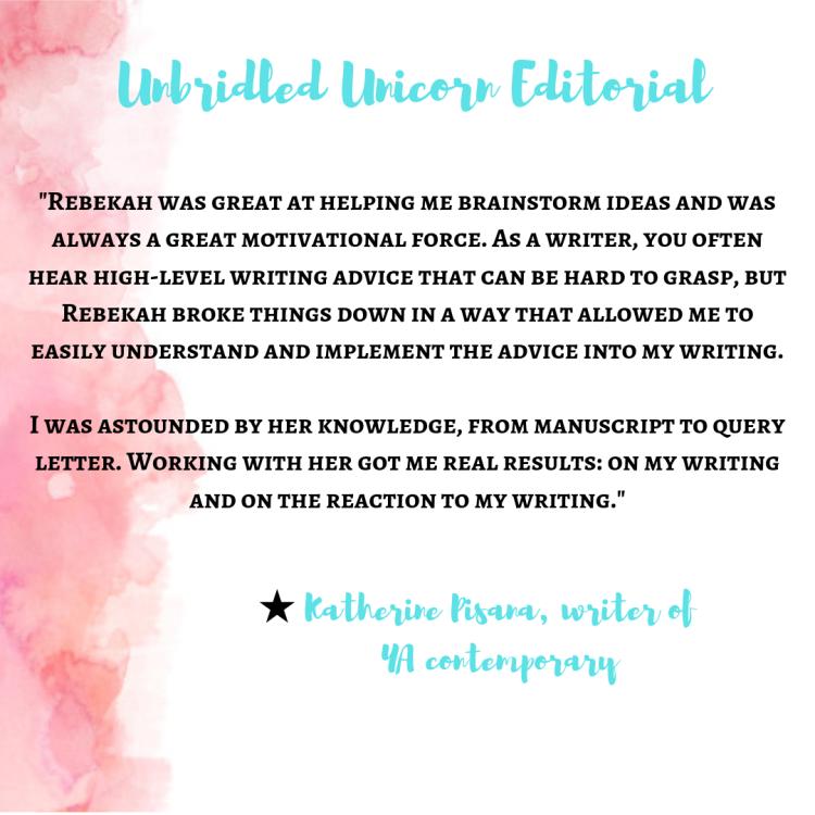 Rebekah Faubion – Author  Editor  Unbridled unicorn